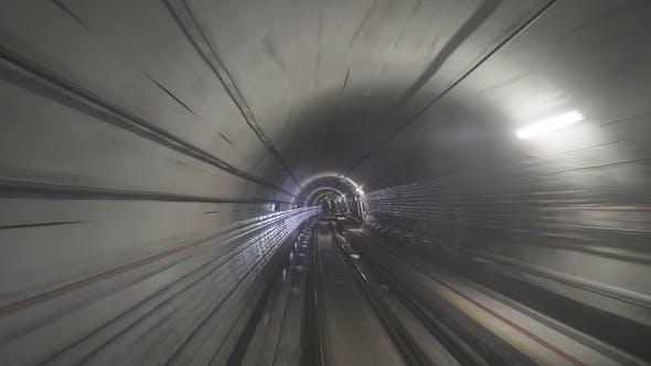Subway Train POV