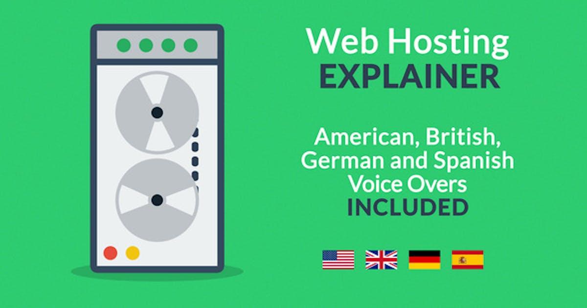 Download Web Hosting Explainer by JakubVejmola
