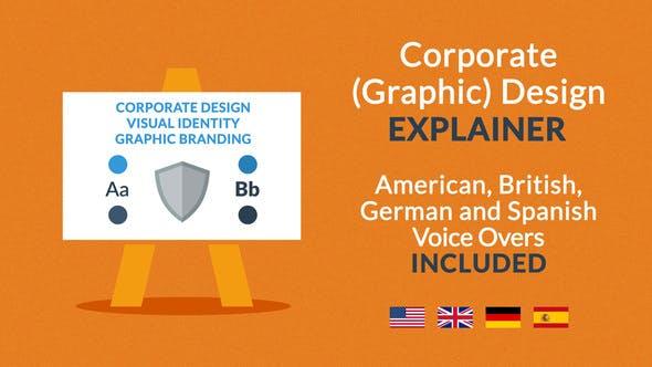 Thumbnail for Corporate (Graphic) Design Explainer