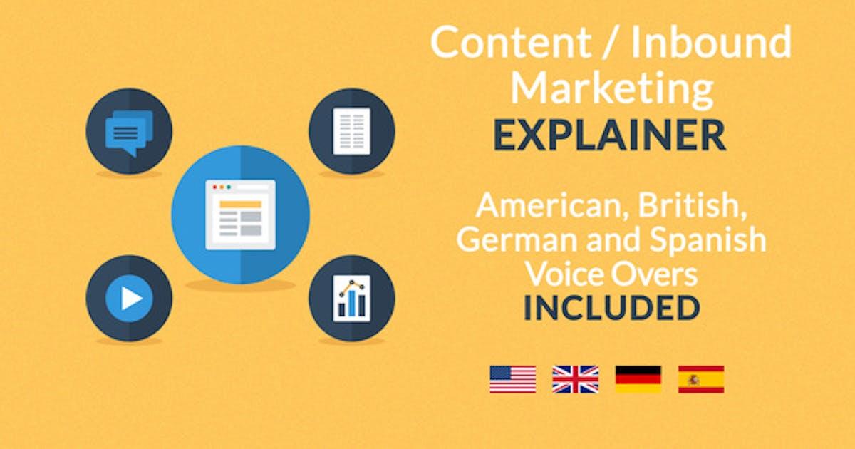 Download Content / Inbound Marketing Explainer by JakubVejmola