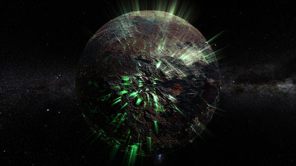 Thumbnail for Krypton Planet 360 Rotation nahtlose Schlaufe
