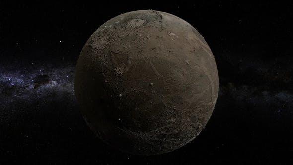 Thumbnail for Ganymede 360 Rotation Seamless Loop