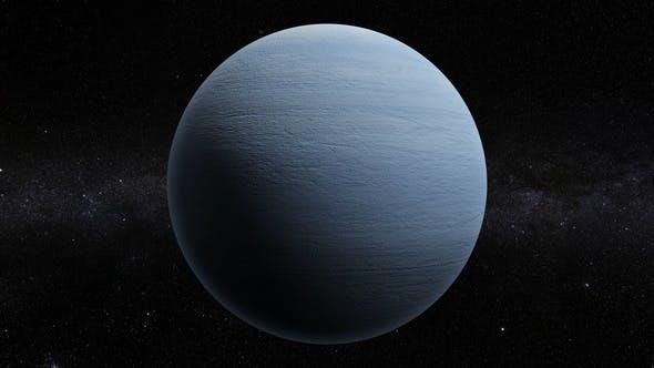 Thumbnail for Uranus 360 Rotation Seamless Loop