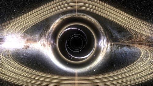Blackhole Orbit Seamless Loop