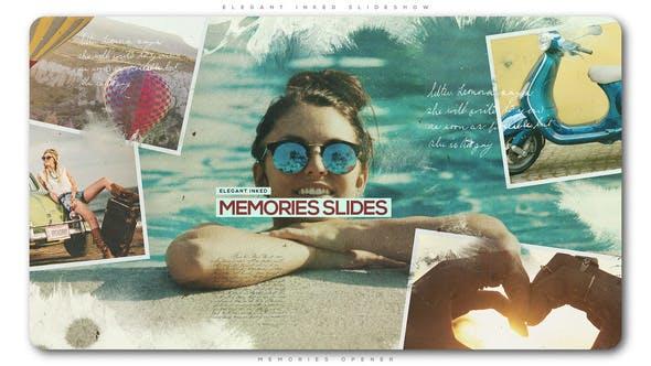 Thumbnail for Elegant Inked Memories Slideshow