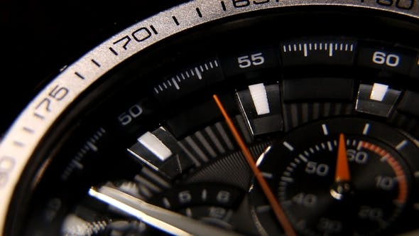 Thumbnail for Classic Chronograph Wristwatch