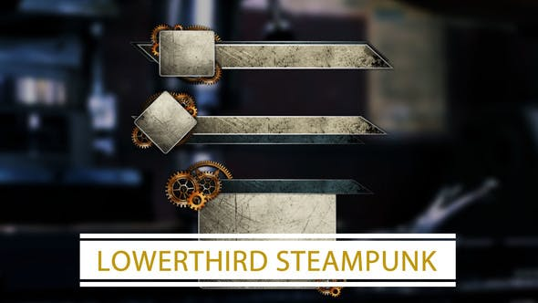 Thumbnail for Lower Thirds Steampunk