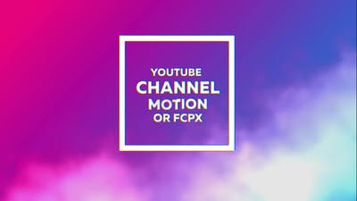Glitch Youtube Channel Kit