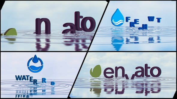Thumbnail for Corporate Logo V21 Water Ripples Emerge