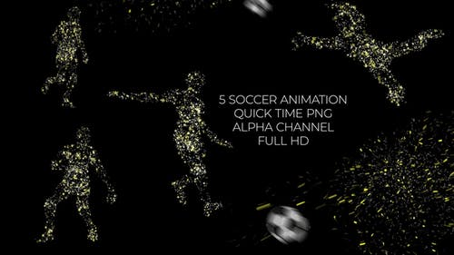 Soccer Player | Motion Graphics