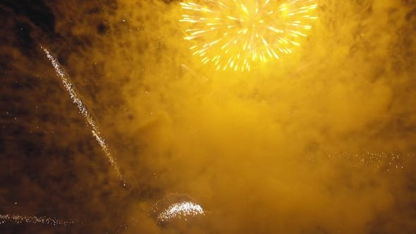 Thumbnail for Salute. Flying in the Midst of Fireworks