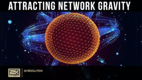 Attracting Network Gravity