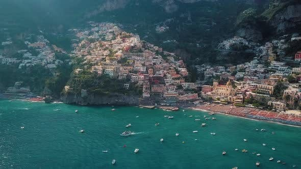 Thumbnail for Positano, Amalfi Coast Aerial