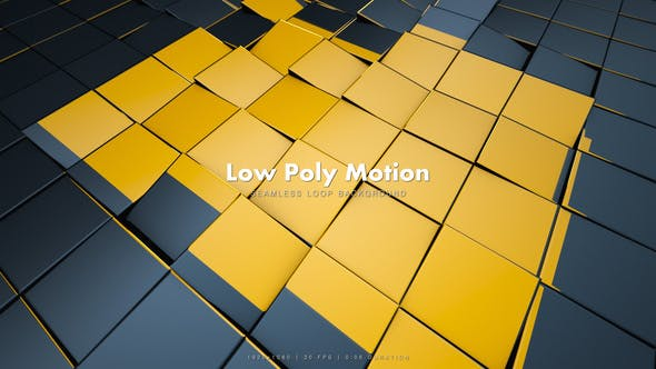 Thumbnail for Low Poly Motion Black