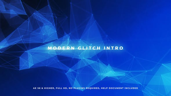 Thumbnail for Modern Glitch Intro
