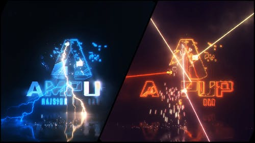 Energetic Electrify and Laser Logo