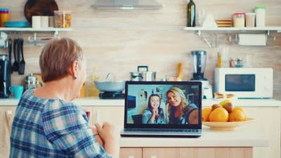 Video Conference with Family