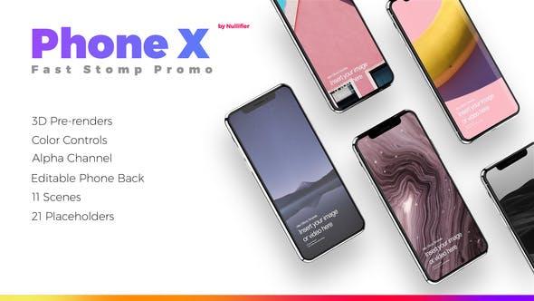 Thumbnail for App Promo Stomp - Phone X