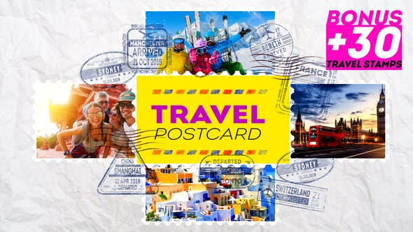 Thumbnail for Travel Postcard