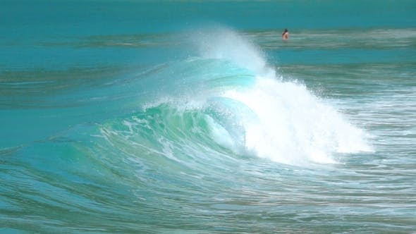 Thumbnail for Waves on the Beach of Nai Harn Thailand