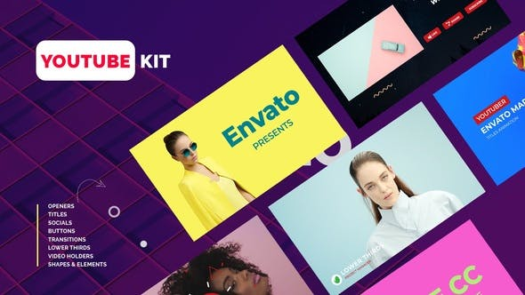 Download 27 Youtube Channel Editable Video Templates - Envato Elements