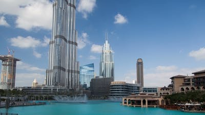 Burj Khalifa Park Hyperlapse