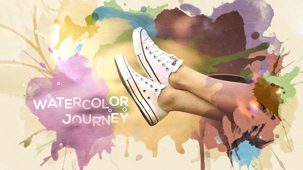 Cover Image for Watercolor Journey