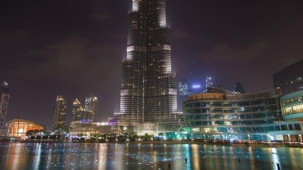 Thumbnail for Musical Fountain Dubai Lake Night