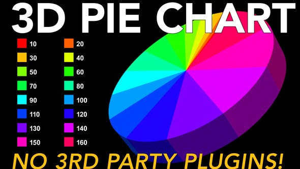 Thumbnail for 3D Pie Chart - no plugins needed!