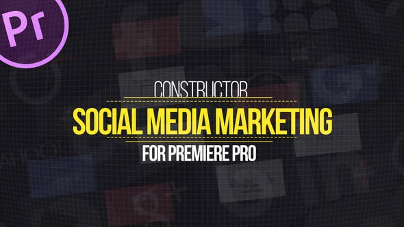 Thumbnail for Social Media Marketing Explainer for Premiere Pro