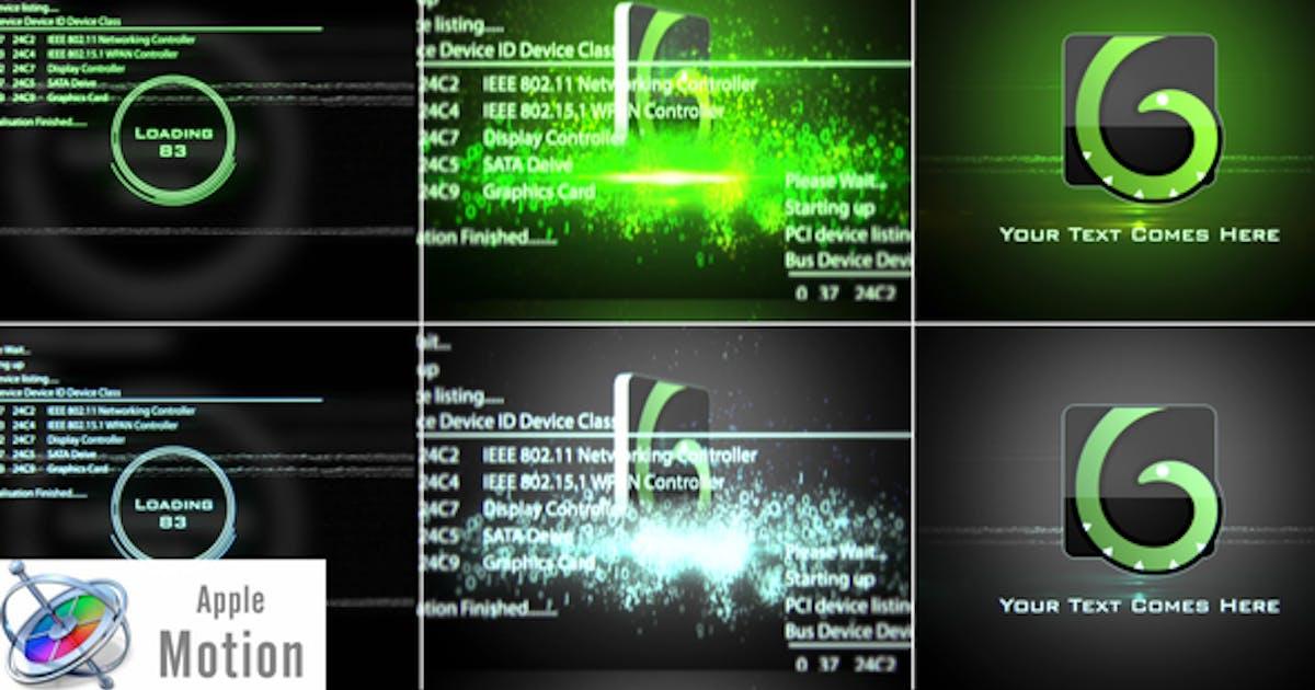 Download Digital Glitch Logo - Apple Motion by StrokeVorkz