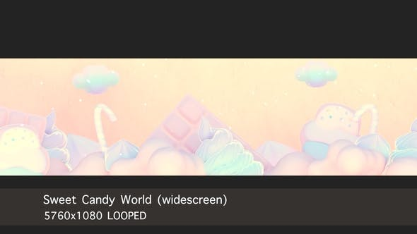Thumbnail for Sweet Candy World (widescreen)