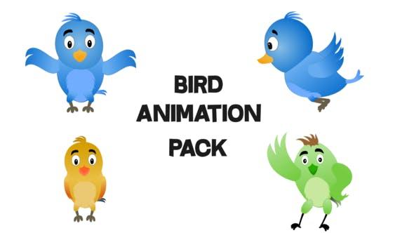 Thumbnail for 2D Bird Pack