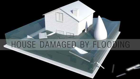 Thumbnail for House Damaged By Flooding