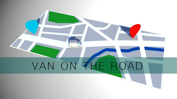 Cover Image for Van On The Road