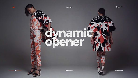 Thumbnail for Dynamic Opener / Fast Stomp Typography / Fashion Event Promo / Clean Rhythmic Intro