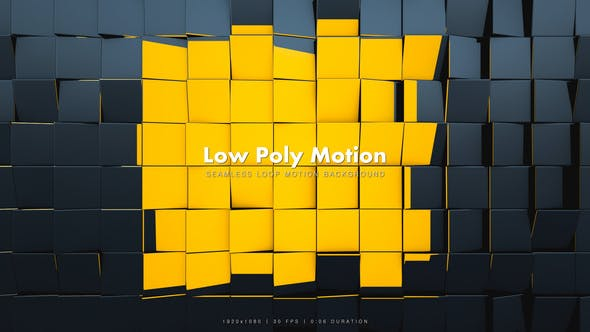 Thumbnail for Low Poly Motion Black 2