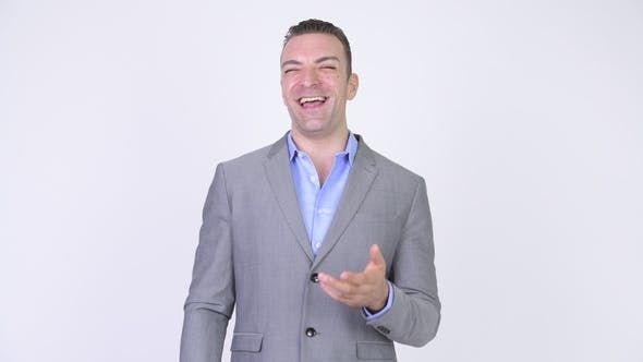 Thumbnail for Businessman Laughing And Pointing Finger