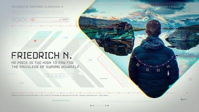 Futuristic Inspired Slideshow