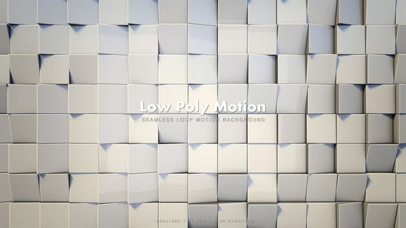 Thumbnail for Low Poly Motion White 2