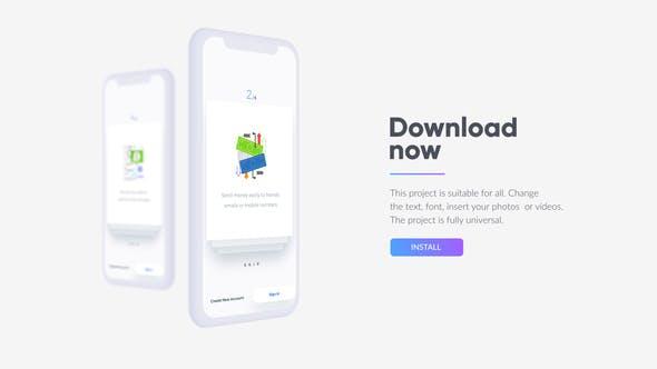 Promo de Appli mobile