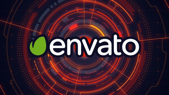 Cover Image for Hi-Tech HUD Logo Reveal