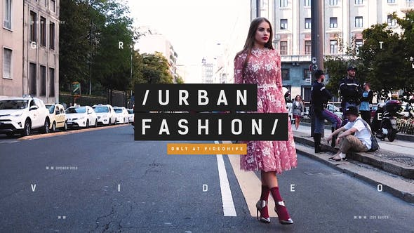 Thumbnail for Urban Fashion Week / Event Promo / Dynamic Opener / Clothes Collection / Beauty Models