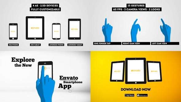 Thumbnail for Smartphone | Tablet - Promo Kit