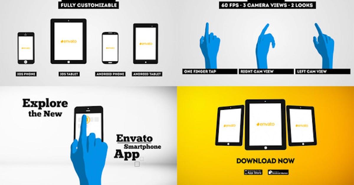 Download Smartphone | Tablet - Promo Kit by framestore