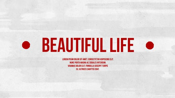 Thumbnail for Beautiful Life