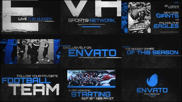 Thumbnail for Grunge Sports Promo