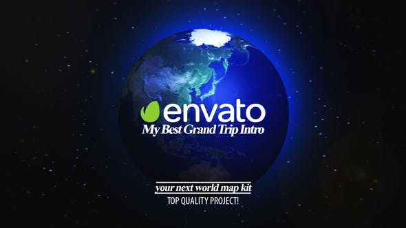Thumbnail for Best Grand Trip Intro | World Map Kit