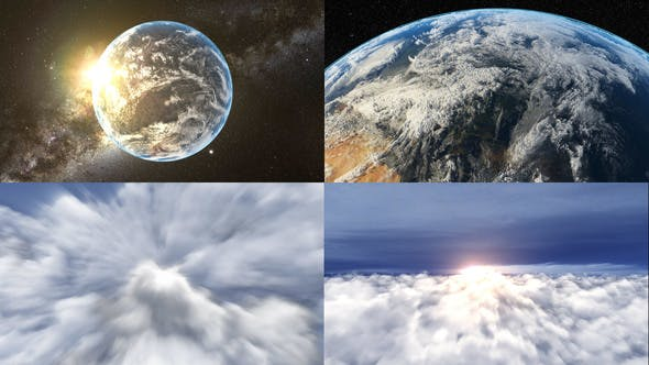 Realistic Earth Zoom