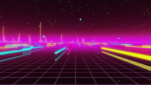 80er Audio -Spektrum